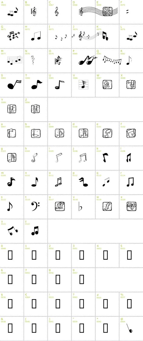 11 free music fonts images free music note font music symbols font free and music letters
