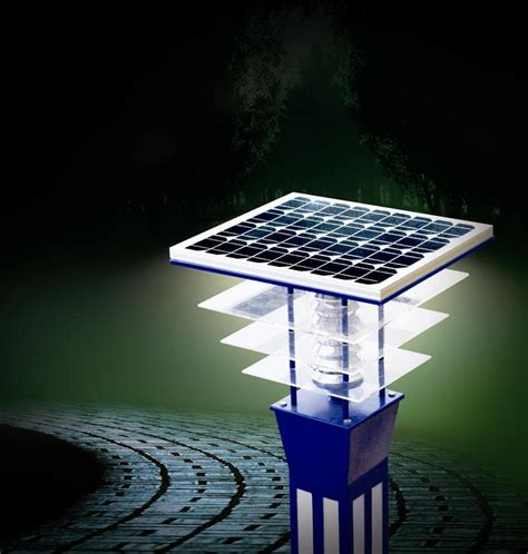 using solar energy for outdoor lighting