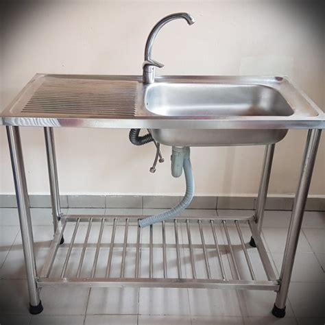 portable kitchen sink with stand portable stainless steel sink with stand mixer set home