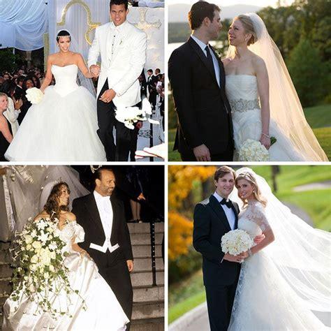 celebrities  wore vera wang   wedding day