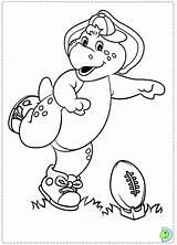 Barney Coloring Riff Dibujos Template Colorear Oh sketch template