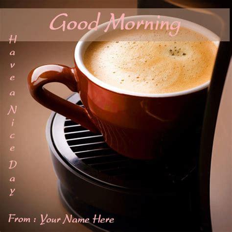 good morning coffee greeting cards