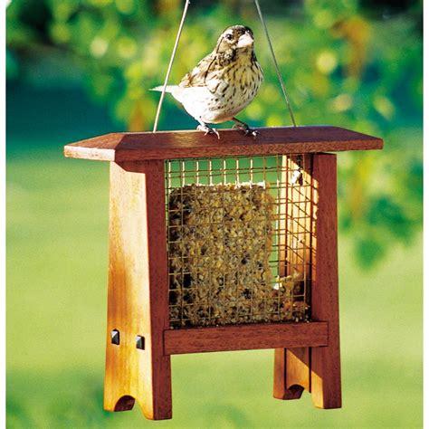suet bird feeder woodworking plan  wood magazine