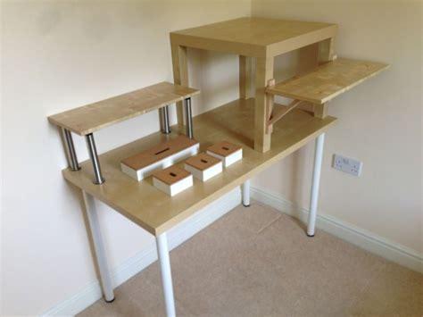 Standing Writing Desk Ikea by Ikea Standing Desk Hack Standing Desks