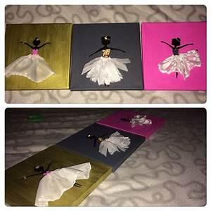 Bilder Kinderzimmer Selber Malen : ballerina bilder f r das kinderzimmer selber malen und basteln basteln pinterest diy ~ Fotosdekora.club Haus und Dekorationen