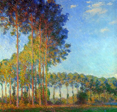 Trees in the landscape: 8 Claude Monet and his poplar series The