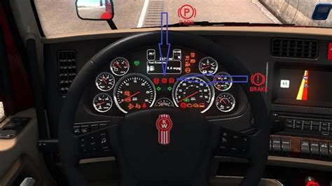 Kenworth Dash Warning Lights by Kenworth Dash Lights Adiklight Co