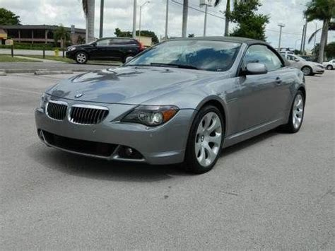 Purchase Used 2006 Bmw 6 Series 650i Convertible 2d In