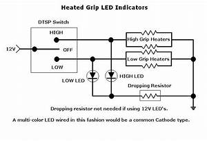 Led Indicators For Heated Grips Wiring Diagram