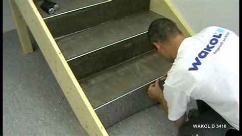 Pvc Boden Auf Treppe Verlegen by Verlegen Pvc Bel 228 Auf Treppen Wakol D 3410