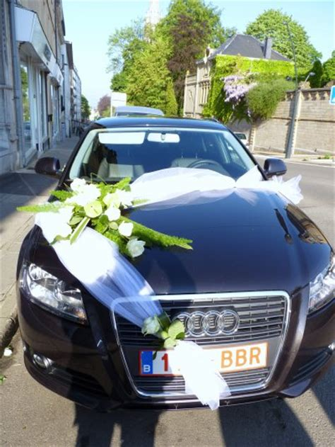 decoration capot voiture mariage d 233 coration voiture pour mariage le jardin d yvan