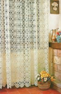 the crochet curtains curtains with charm of covers home select fresh design pedia