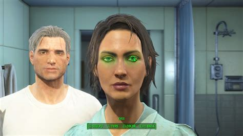 fallout  bugglitch female character  permanently