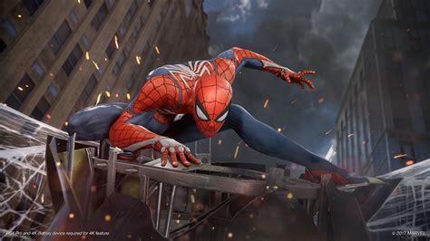 Marvels Spider Man Game Ps4 Playstation