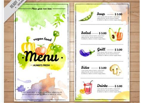 speisekarten vorlagen tipps und  kostenlose mustermenues