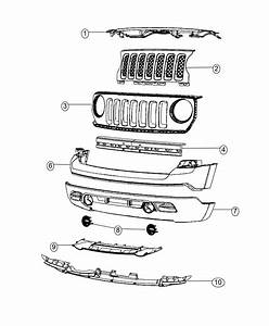 2016 Jeep Patriot Reinforcement  Front Bumper