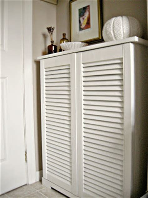 louvered kitchen cabinet doors designing home what to do with louvered doors 7182