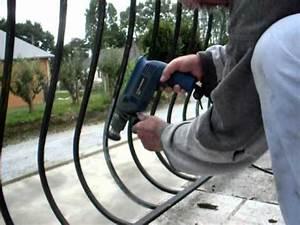 Décaper Peinture Sur Fer : fer forg de balcon 3 youtube ~ Dailycaller-alerts.com Idées de Décoration