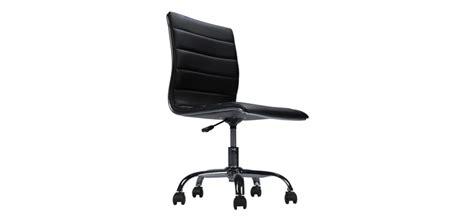 chaise de bureau sans accoudoir fauteuil simili cuir achetez nos fauteuils en simili