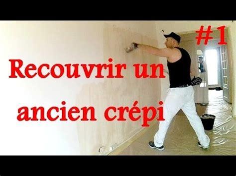 renovation cuisine bois lisser un mur crépi 1 3