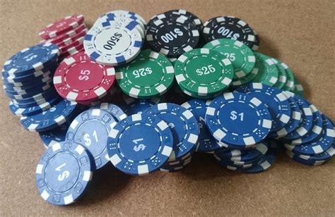 valor de fichas de casino