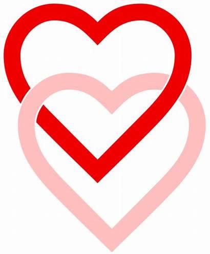 Hearts Svg Interlaced Heart Printable Wikipedia Stencils