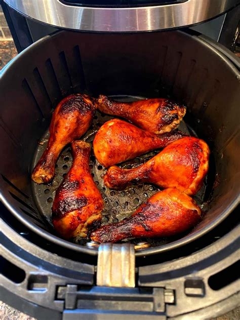 bbq chicken air fryer legs cooking keto sauce sugar want use easy these