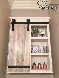 53 best images about amazing cool barn doors diy ideas With barn door style medicine cabinet