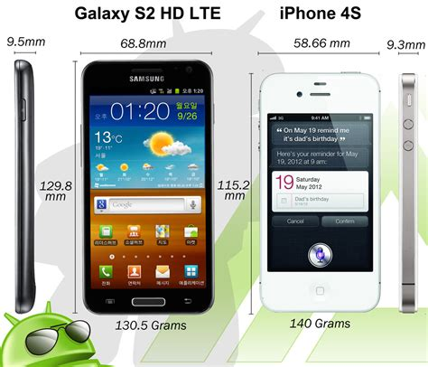 what does lte on iphone samsung galaxy s2 hd lte vs apple iphone 4s What