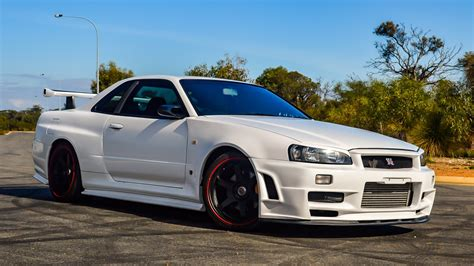 Select a beautiful wallpaper and click the yellow download button below the image. Nissan, Nismo, Nissan Skyline GT-R R34, Nissan Skyline GT-R R34 V-Spec II, JDM, Japanese cars ...