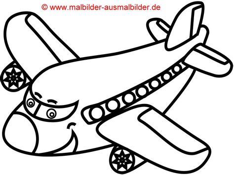 flugzeug zum ausmalen kinderbilderdownload