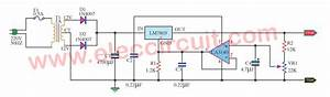 Variable Regulated Power Supply Using 7805 And Op