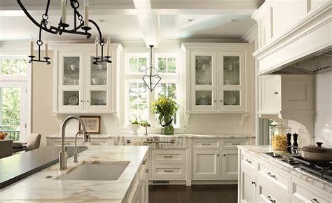 Off White Kitchen Cabinets  Transitional Kitchen