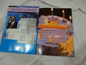 UNITED NATIONS NEW YORK Stamp Collection Book and Stamps ...