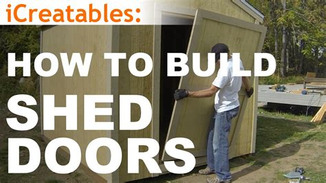 how to build a r for a shed how to build a shed part 10 shed door building doovi