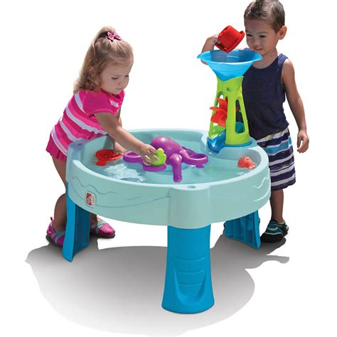 water table for kids octopus spinner water table kids sand water play step2