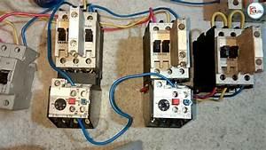 Star Delta Starter  U092e U0947 U0902 2 Relay Ki Control Wiring  U0915 U0948 U0938 U0947  U0915 U0930 U0947