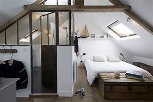 suite parentale sous comble mes combles With chambre sous les toits