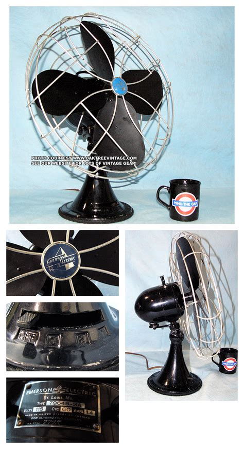 Antique Desk Fan Replica by Antique Vintage Electric Fans Restored Refurbished And