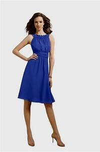 cobalt blue chiffon bridesmaid dresses Naf Dresses