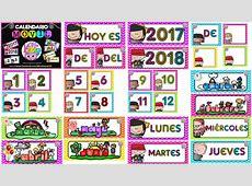 Espectacular calendario móvil para el ciclo escolar 2017