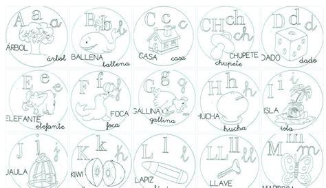 abecedario para imprimir y colorear planeaciones gratis