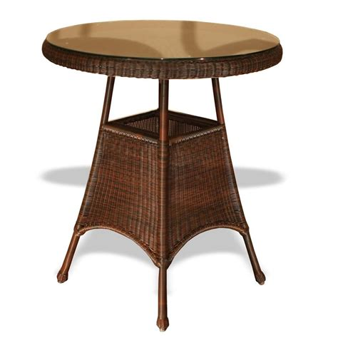 tortuga outdoor 36 quot wicker bar table wicker
