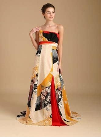 kimono wedding dress  features gowns   antique