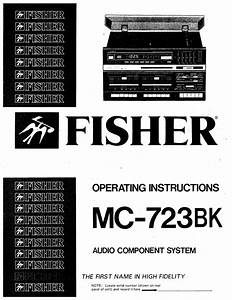 Free Download Fisher Mc 723 Bk Owners Manual