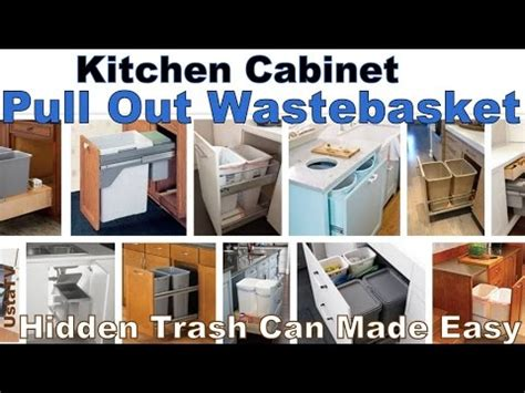 convert kitchen cabinet to pull out how to convert any kitchen cabinet into pull out waste