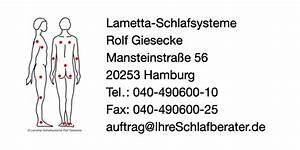 Matratzen Für Bauchschläfer : lametta schlafsysteme rolf giesecke in hamburg ~ Eleganceandgraceweddings.com Haus und Dekorationen