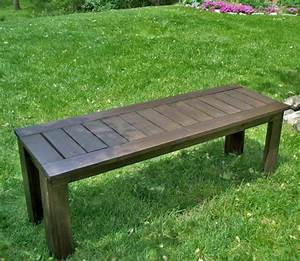 Ana White | Build a Simple Outdoor Bench - DIY Projects