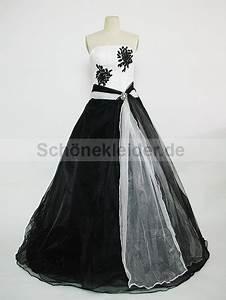 Schwarz Weiß Hochzeitskleid : lange kleider schwarz wei ~ Frokenaadalensverden.com Haus und Dekorationen