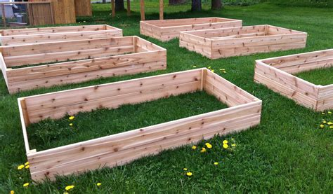 Above Ground Vegetable Garden Box Plans